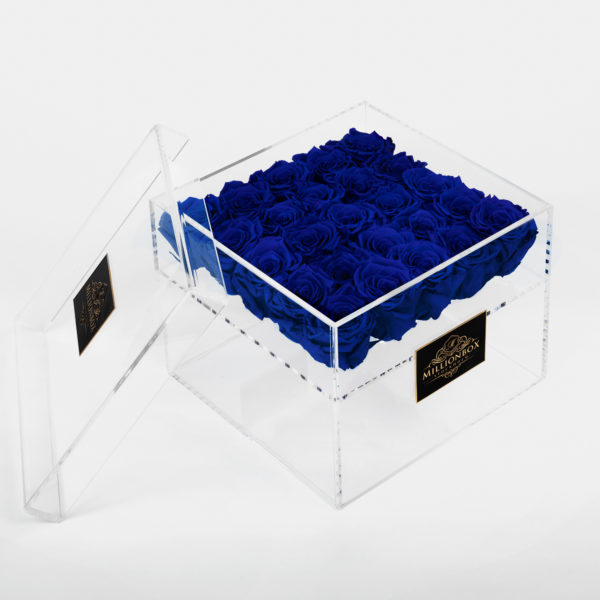 Infinity Box with Blue Rose | Millionbox.se